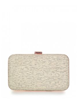 Clutch bag veta μπεζ (4008-33)