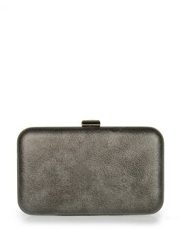 Clutch bag veta ανθρακί (4004-57)