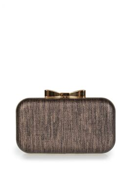 Clutch bag veta μπρονζε (4006-58)