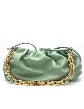 Τσάντα vida ώμου - χιαστί μέντα (0338-52)