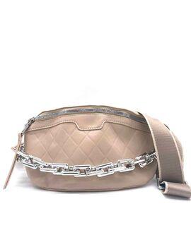 Τσάντα μέσης vida  μπέζ  (3306-63)